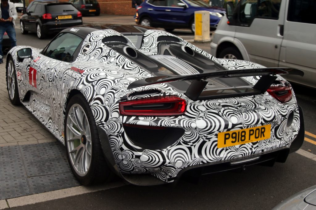 918 Spyder in disguise