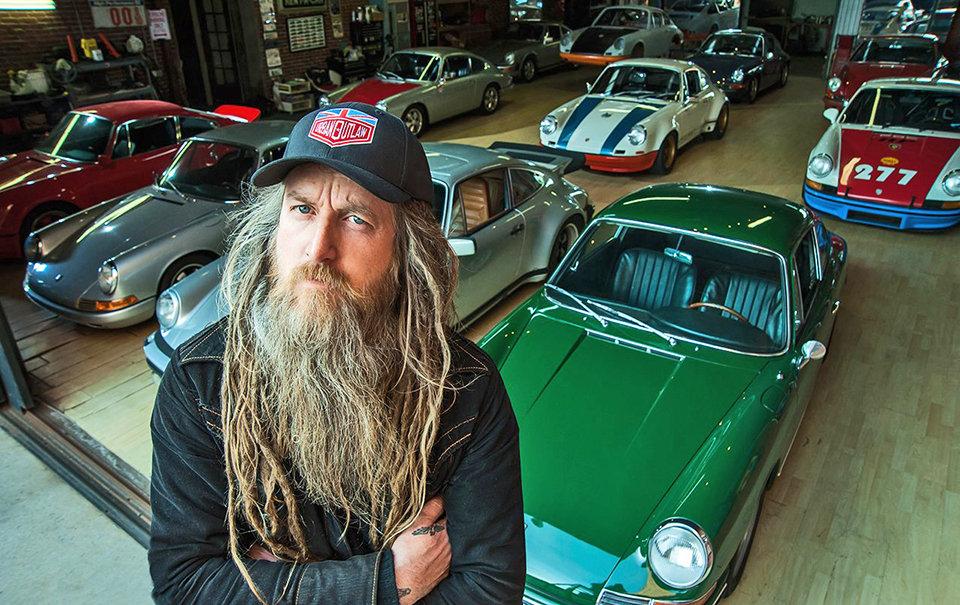 Porsche Meet at The Ace Cafe with Magnus Walker