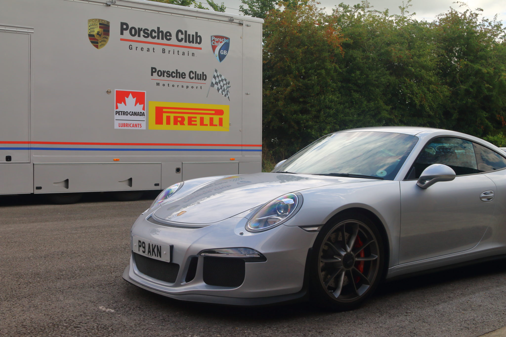 Breakfast with Porsche Club GB