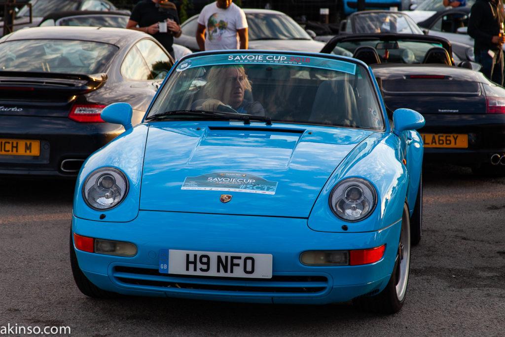 Porsche Night, Ace Cafe, London