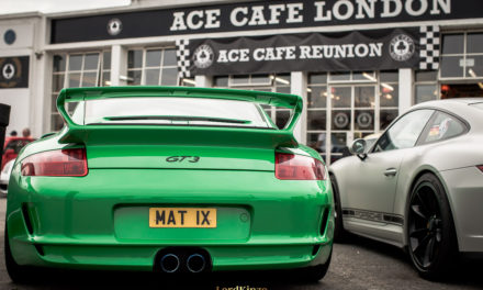 June's Porsche Meet at The Ace Cafe – A Pictorial
